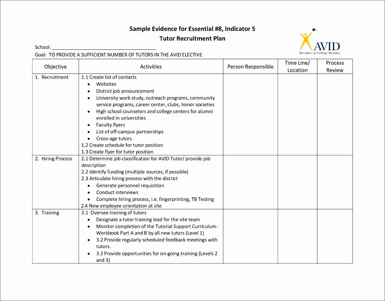 Workforce Planning Template Excel Inspirational 6