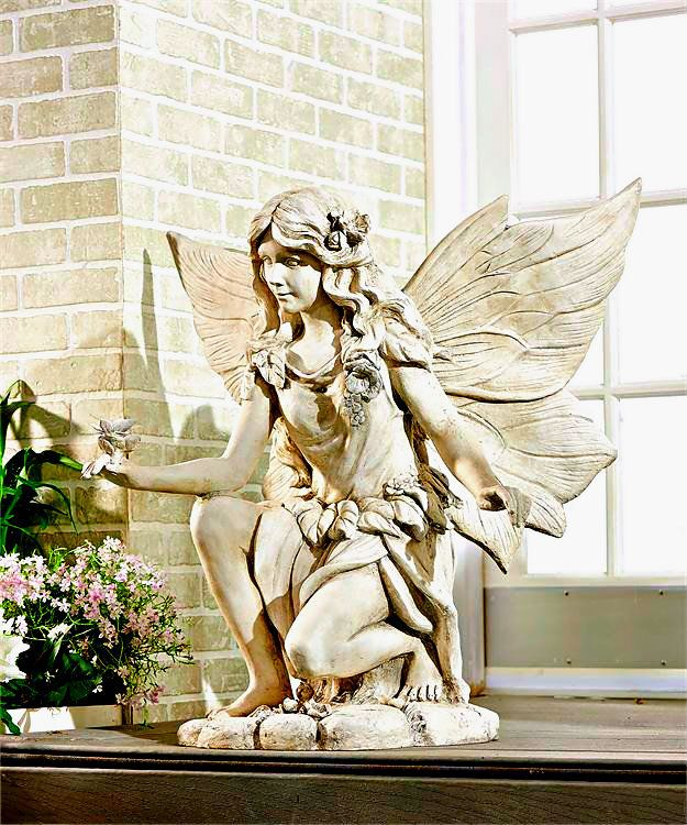Enchanted Garden Fairy Large Statue This Striking 400 x 300