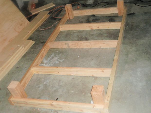 Diy Couch Using Twin Mattress Twin Bed Frame Woodworking Plans