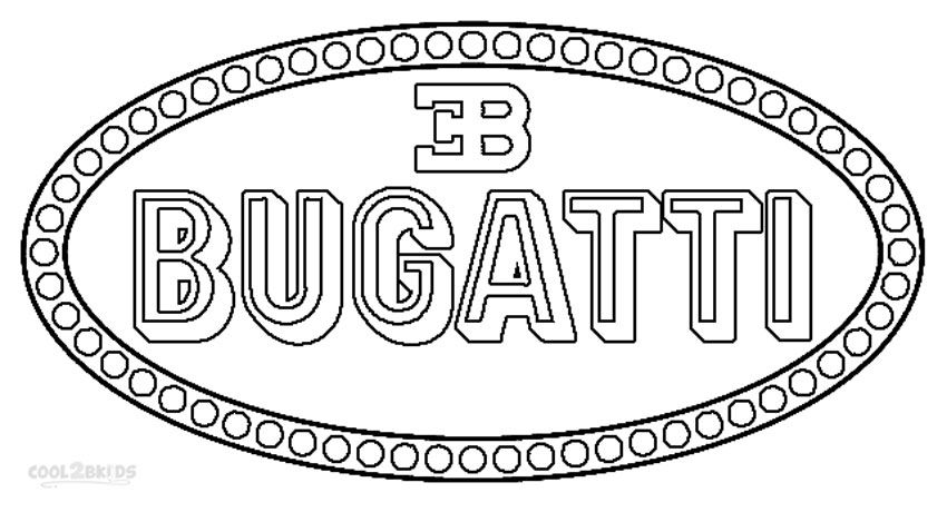 Printable Bugatti Coloring Pages For Kids Cool2bkids Car Rhpinterest: Coloring Pages Car Logos At Baymontmadison.com
