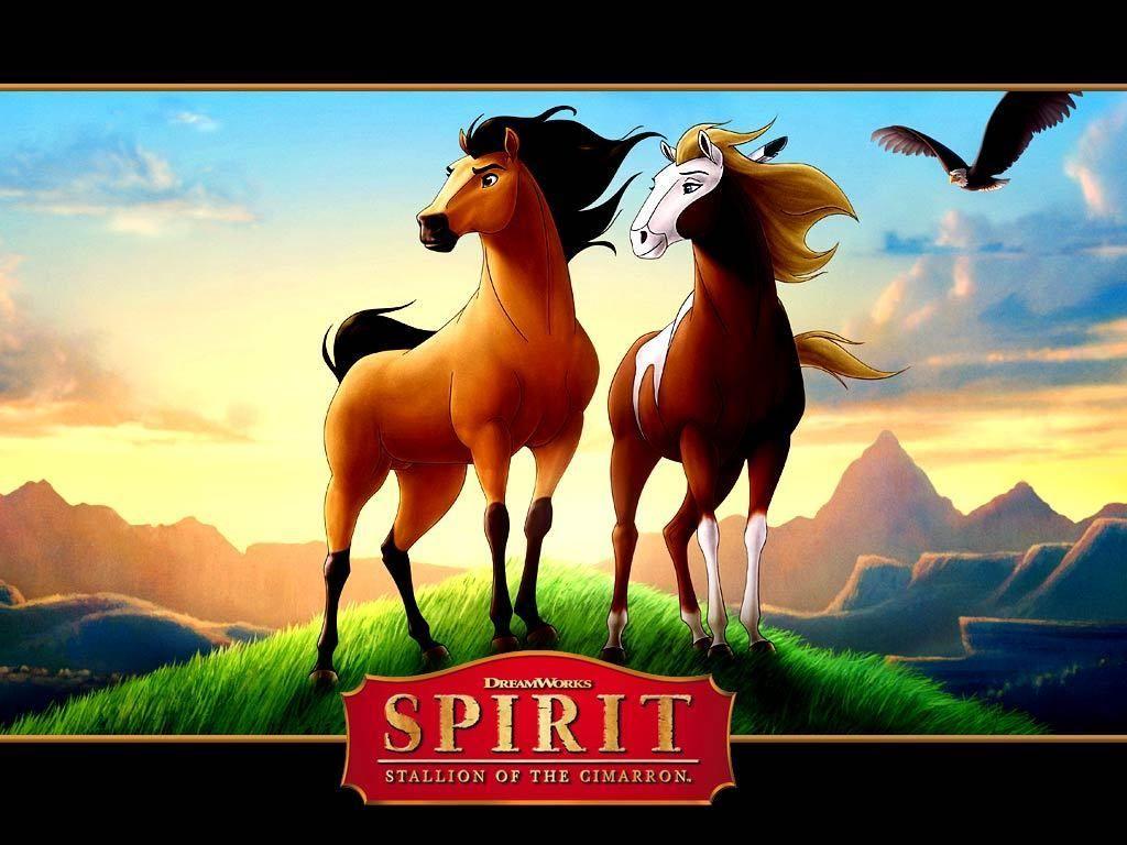 Spirit And Rain Spirit Stallion Of The Cimarron 6690827 1024 768 Jpg 1024 768 Spirit And Rain Animated Movies Kid Movies