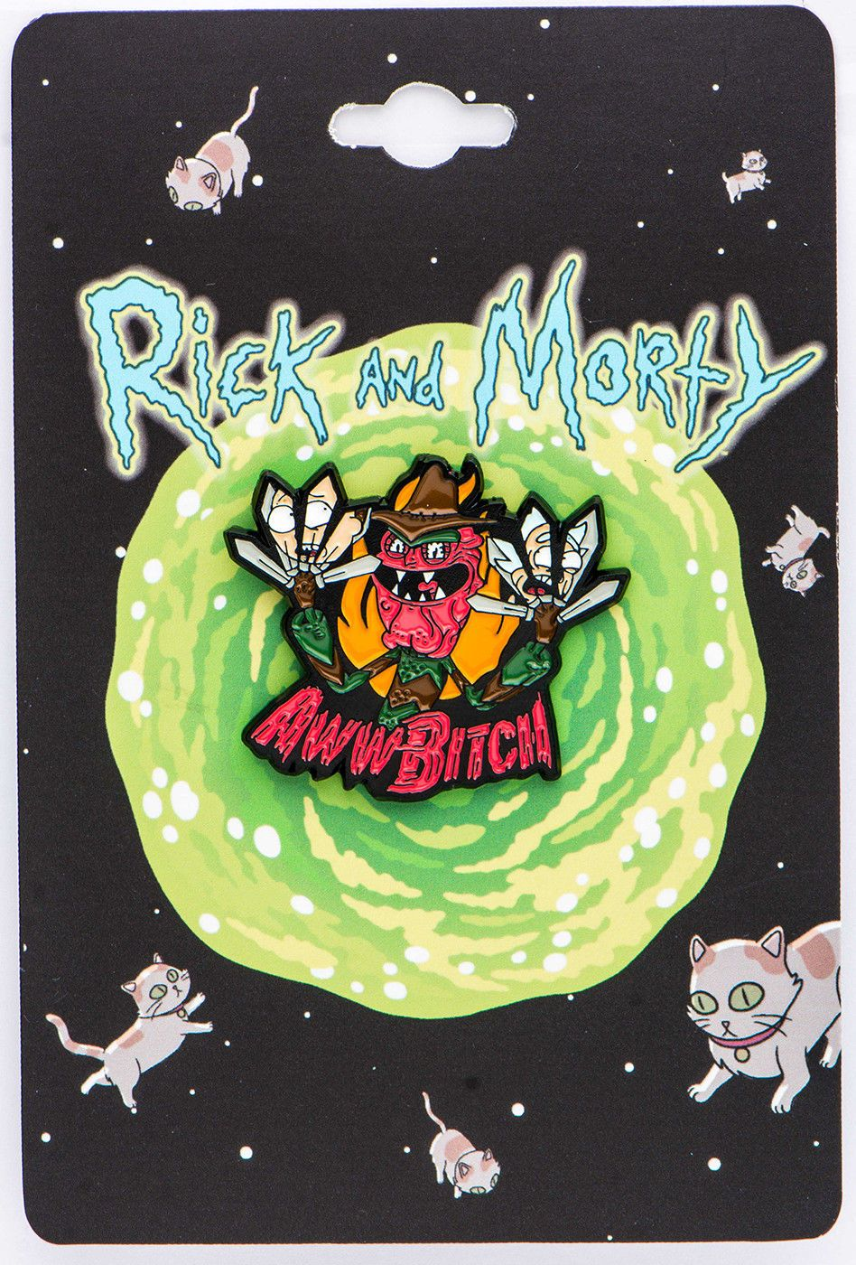 NYCC 17 Exclusive Pin CollectibleRick and Morty Scary Terry Enamel Pin
