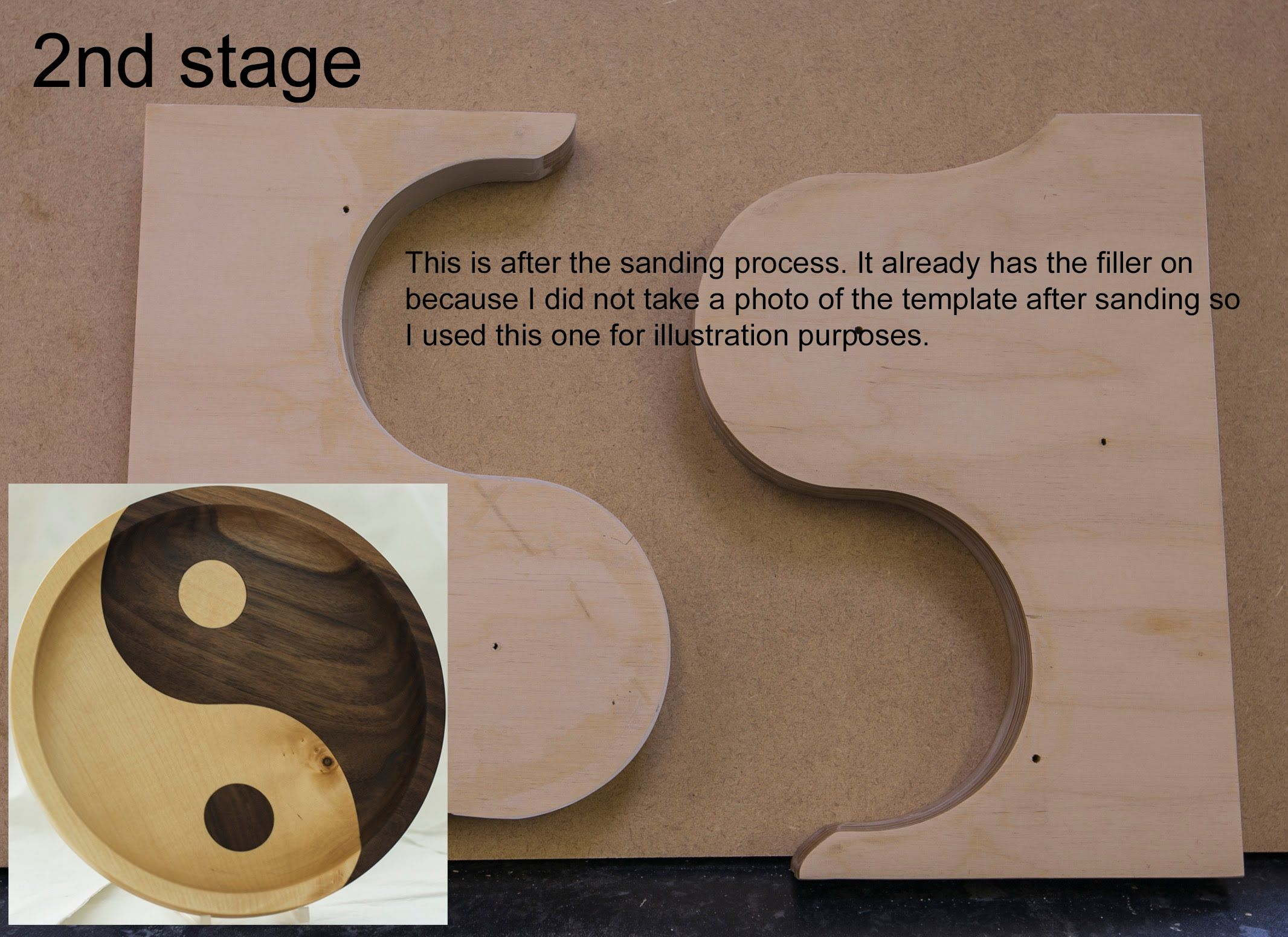 Woodturning Qa How To Make A Yin Yang Template Woodworking