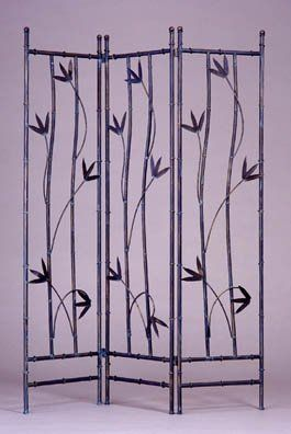 Leaf Iron Folding Screen By Gems Room Dividers 287 00