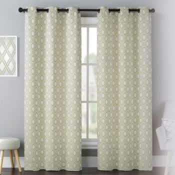 United Curtain Co 2 Pack Mystique Celestial Window Curtains