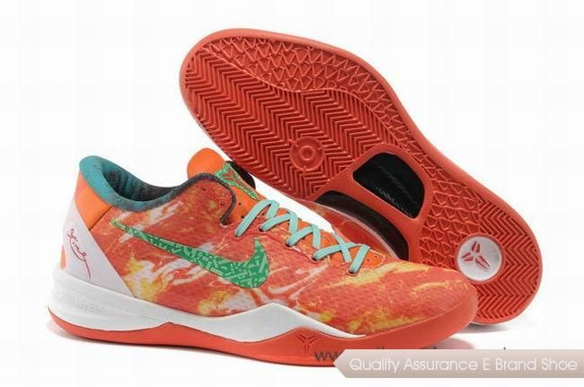 buy popular 46f4f 2f777 Nike Kobe 8 System All Star Bright Citrus Sport Turquoise Basketball Shoes. Cheap NBA Basketball Shoes for Sale online at our mall shop enjoy more  discount ...