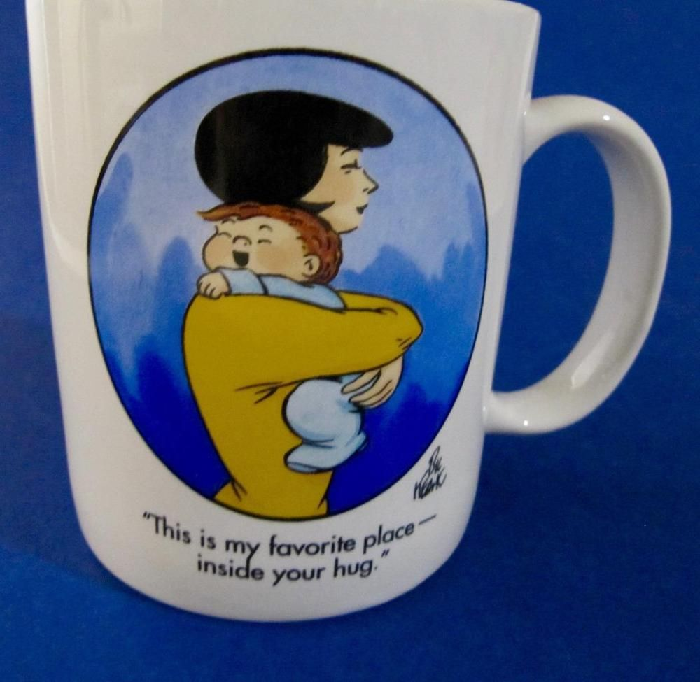 Family Circus Coffee Mug Cup Favorite Place Inside Your Hug 10 Oz Familycircus Mugs Coffee Mugs Mug Cup