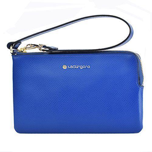 Lackingone Damen Handtaschen Abendtaschen Clutch Tasche Clutches Unterarmtasche Damen Geldbeutel Geldtasche Handgelenktasche RFID Blocking RFID-Blocker Ledertasche