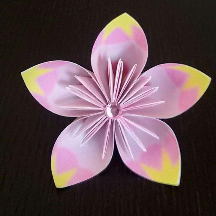 Fiori Kusudama.Fiore Origami Segnaposto Kusudama Flower Fiori Di Carta