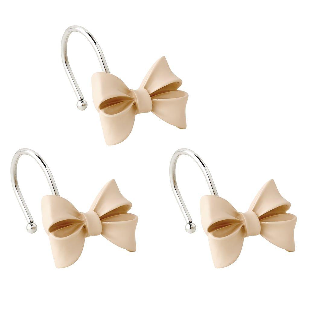 Lc Lauren Conrad Bow Shower Curtain Hook Shower Curtain Hooks
