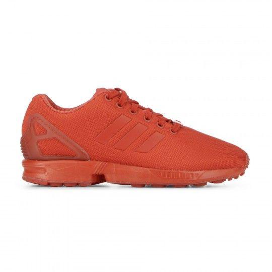 adidas zx flux rose courir