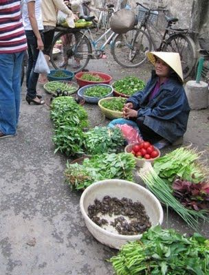 Kasvikuntaa ja kalaa  - vietnamilaista lähiruokaa