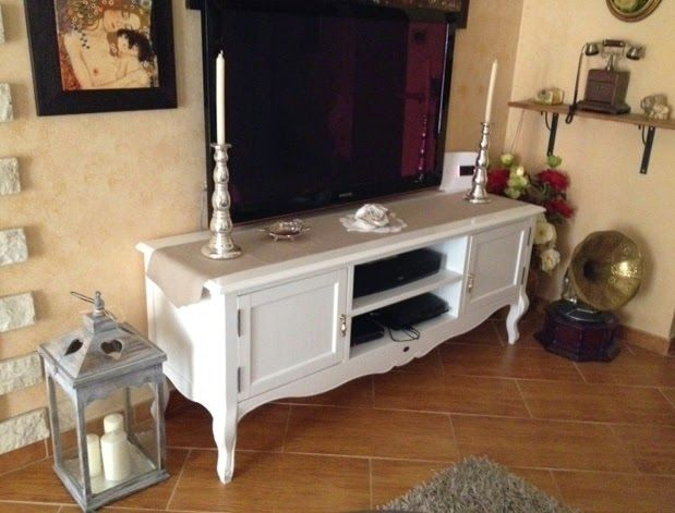 Shabby Mobili ~ Mobili porta tv living room shabby tvs and credenza
