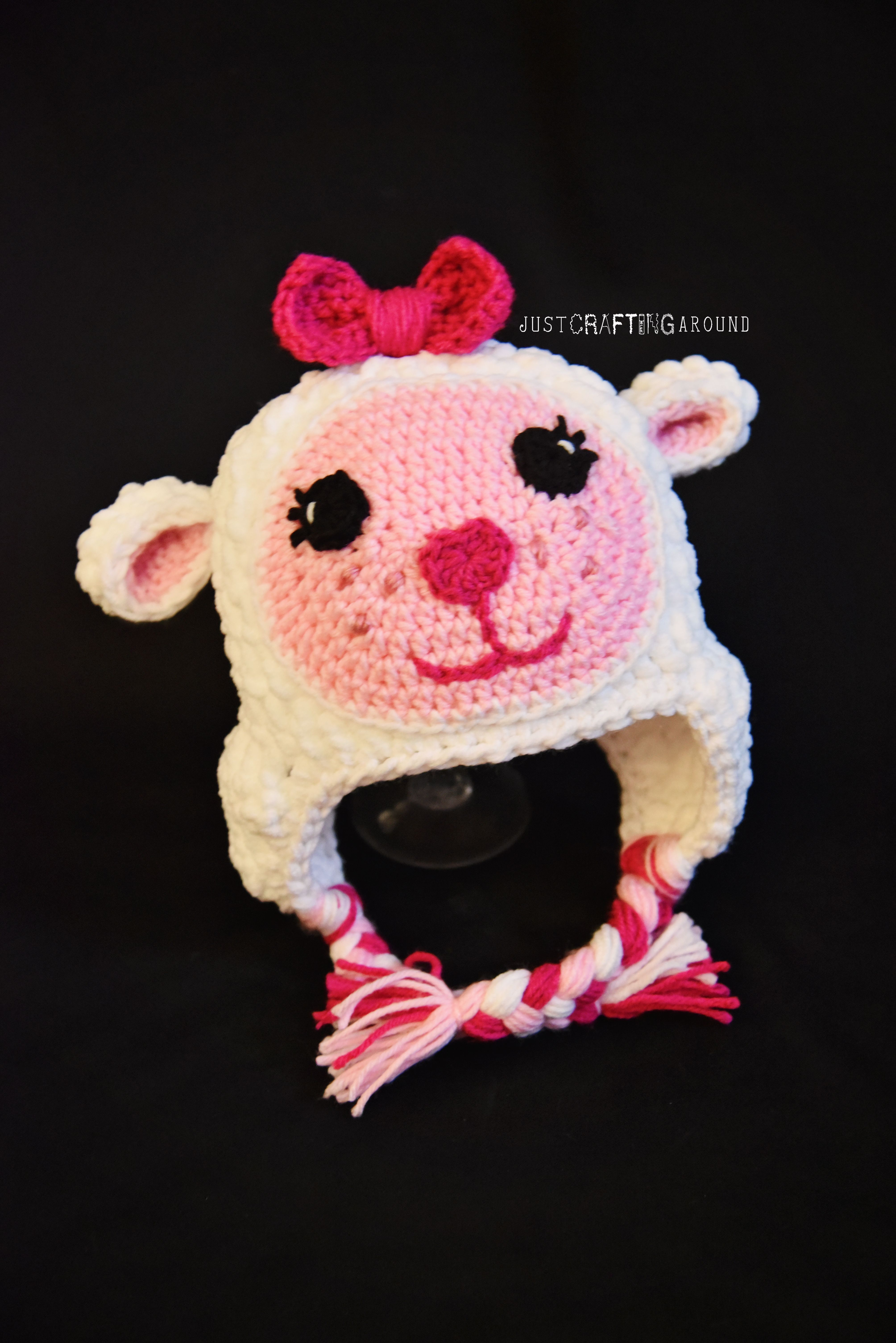 Doc Mcstuffin\'s Lambie hat pattern. | Just Crafting Around | GORROS ...