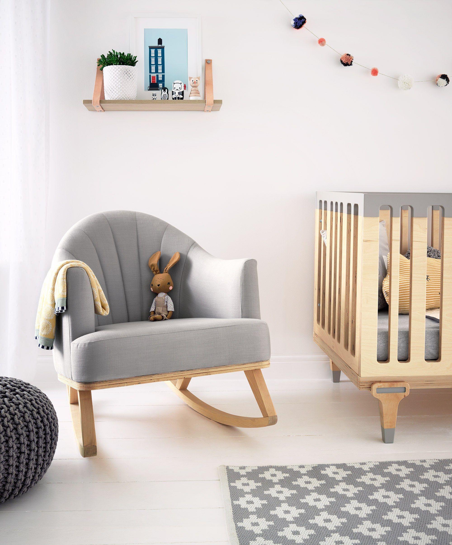 Terrific Bunny Clyde Rocking Chair For Nursing Feeding Birch Short Links Chair Design For Home Short Linksinfo