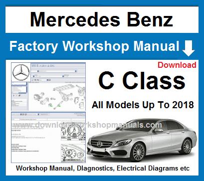 Mercedes C Class Workshop Manual C Class Mercedes A Class Repair Manuals