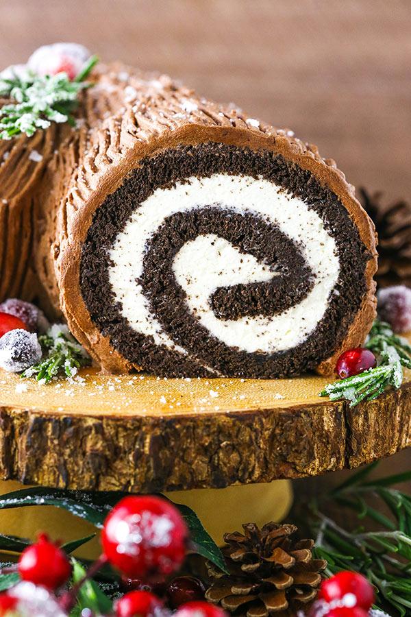 Yule Log Cake (Bûche de Noël) Recipe (With images