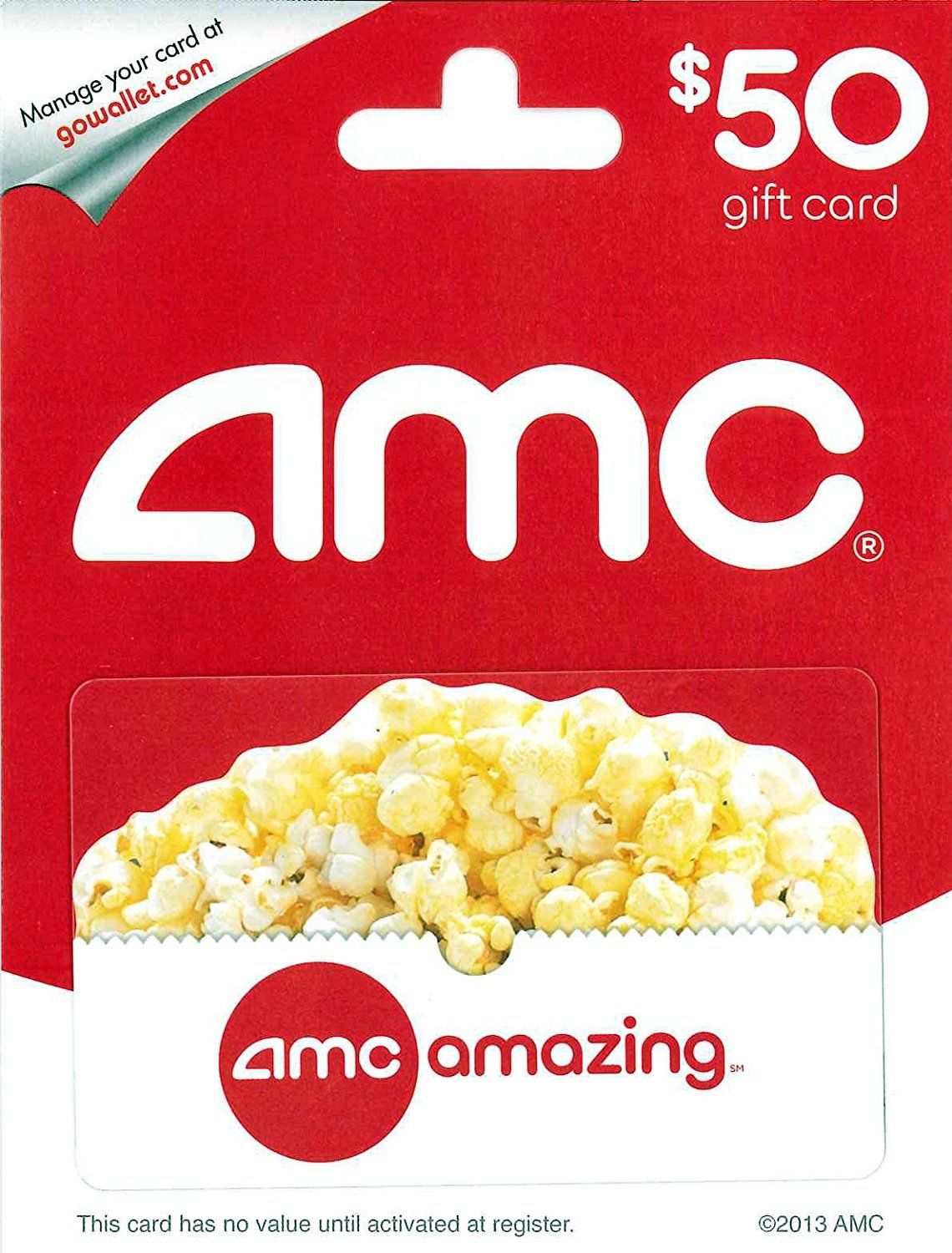 Amc theatre gift card find out more details by clicking