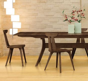 mid century modern dining table. Mid Century Modern Design Captured In Copeland\u0027s Audrey Dining Set » Vermont Woods Studios Table