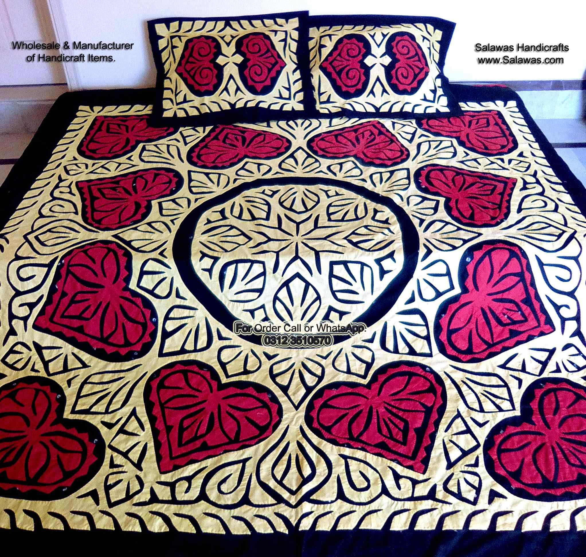 The Best Fancy Bridal Bed Sheets Designs Stani With Prices In Karachi New Sindhi Is For Bride To Give As Gifts Weddings