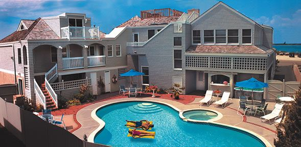 The Sandcastle Bed And Breakfast Long Beach Island Jersey S Resort