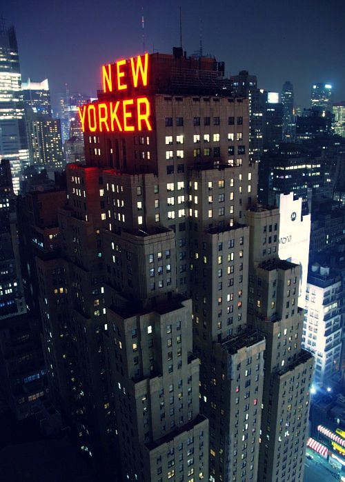 The New Yorker Hotel In The Building S Heyday Actors