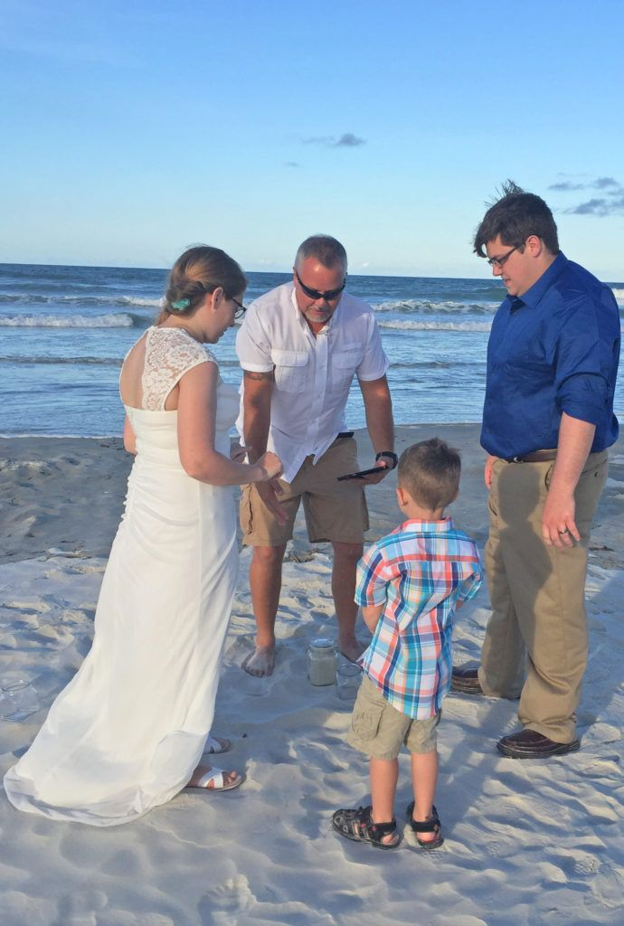 May I Have The Rings Carter? Beach Wedding In New Smyrna