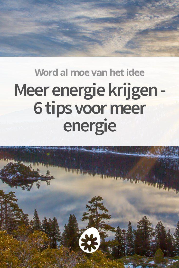 Wil je meer energie overhouden - zelfs na een zware werkdag? Deze tips helpen je om meer energie te krijgen. Zodat je ook 's avonds nog fut hebt om iets te ondernemen.
