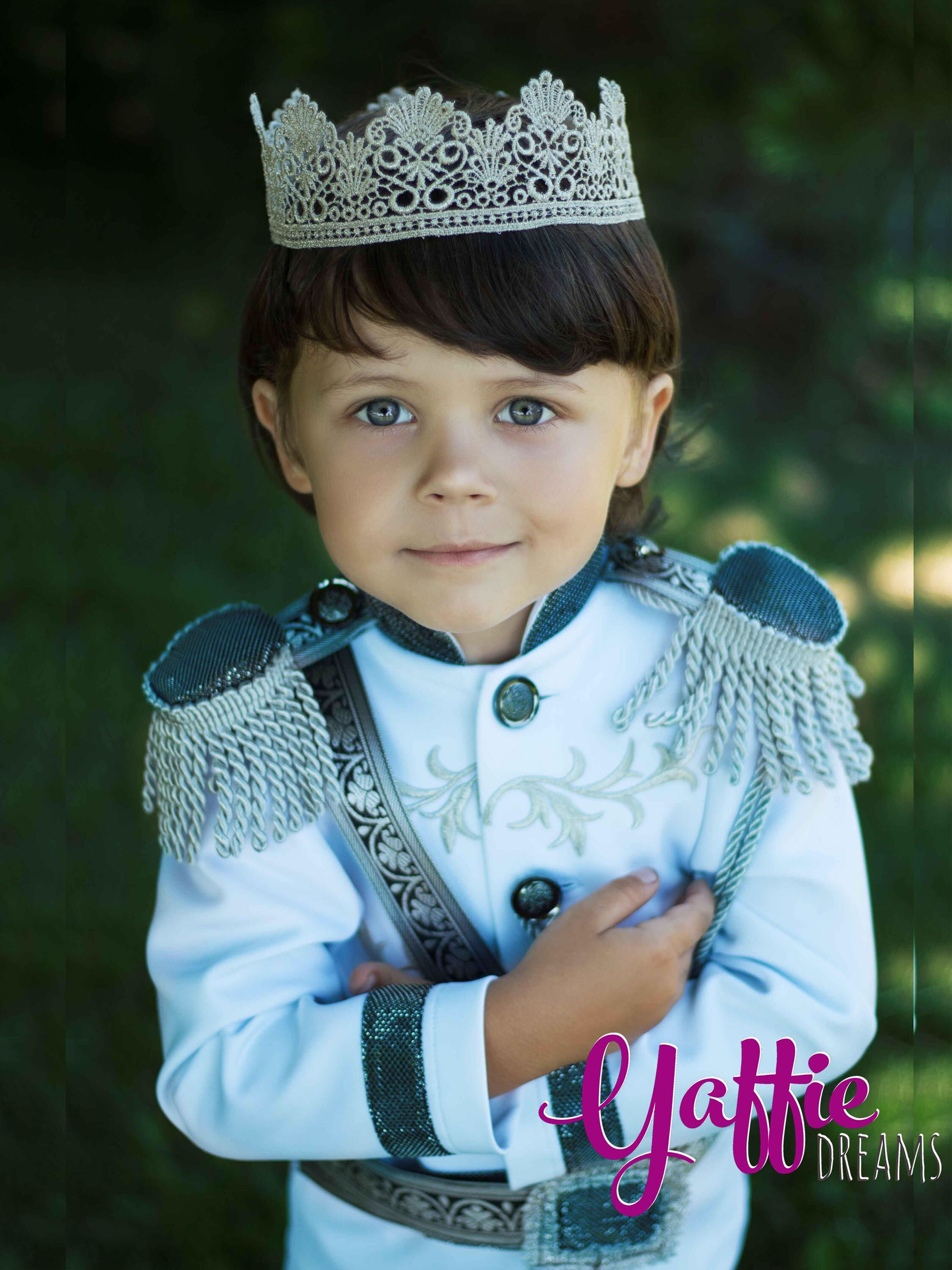Ring Bearer wedding suit for boy Prince Charming outfit for boy ...