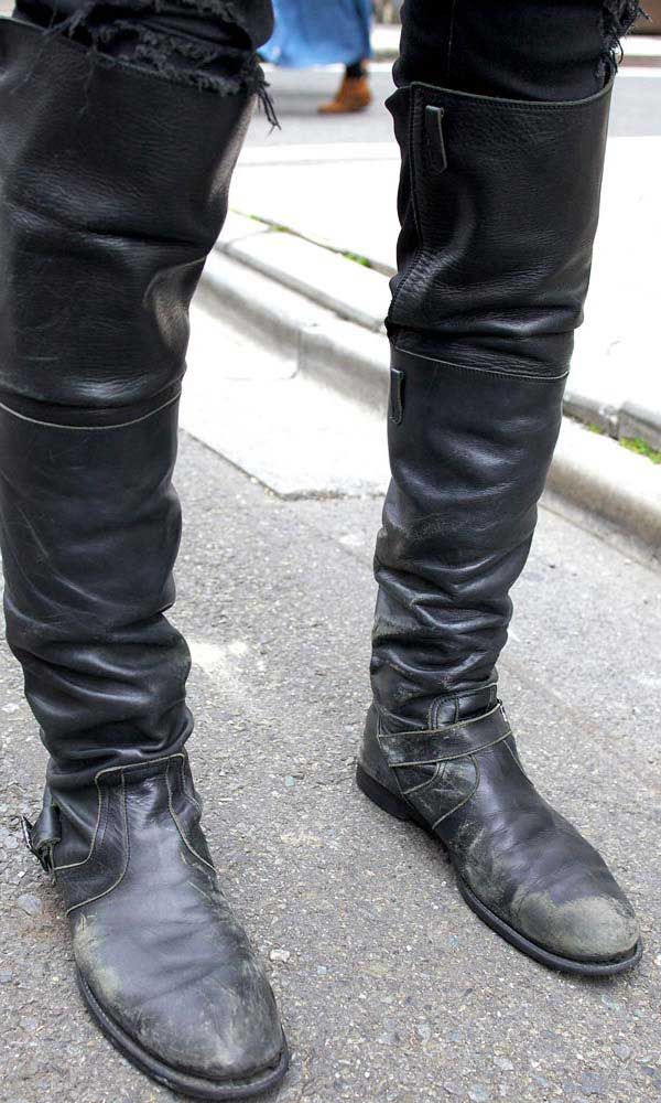 High Boots The Knee High Boots For Men Are Back In 2019
