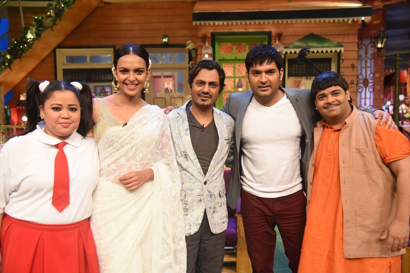 Babumoshai Bandookbaaz Star Cast At The Kapil Sharma Show
