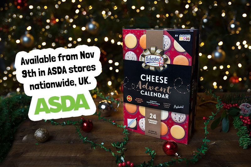 No WAY!!! A cheese Advent Calendar - exclusive to Asda stores from