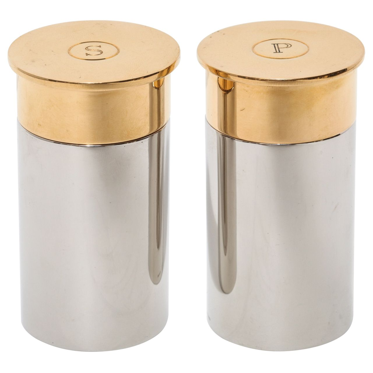 Hermes Bullet Salt And Pepper Shakers From A Unique Collection