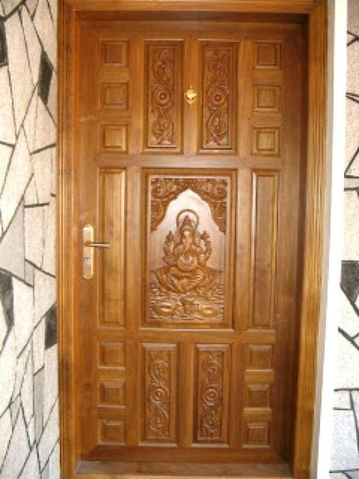 Tamilnadu No1 Interiors House Front Door Design Wooden Door Design Single Front Door Designs