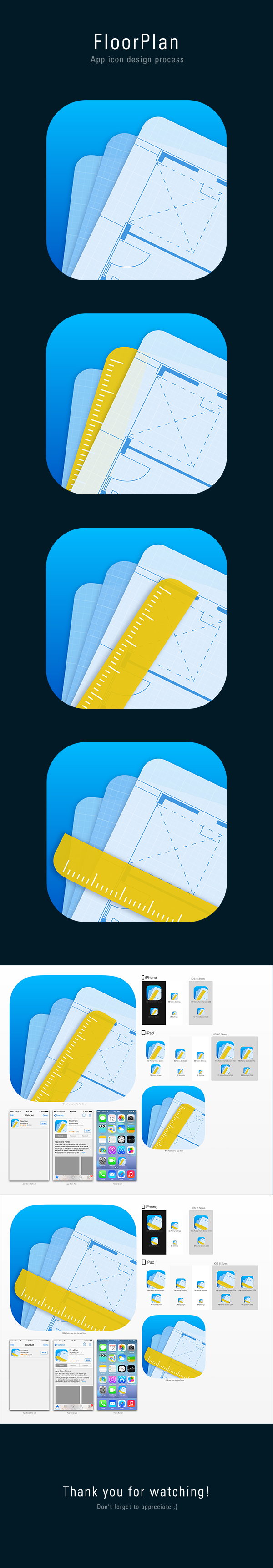 FloorPlan App Icon on Behance App icon, App icon