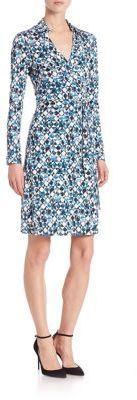 SALE Diane von Furstenberg New Jeanne Two Wrap Dress