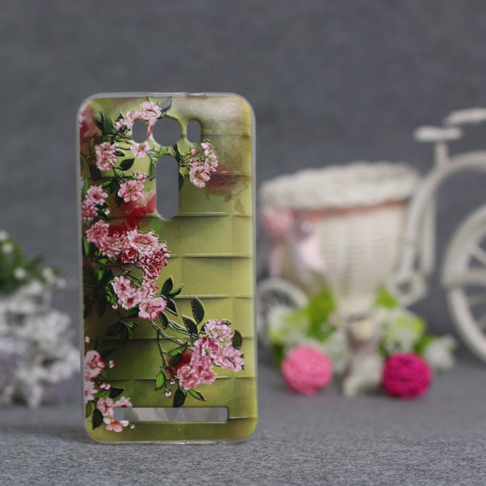 For Asus Zenfone 2 Laser Ze500kl 50 Inch Silicon Case Luxury Softcase Silikon Transparan Printing