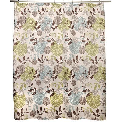 Famous Home Fashions Margarita Shower Curtain Kohls Fabric