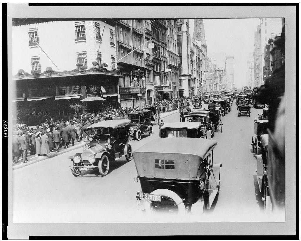 Once Upon a Town - Easter, 1920 Fifth Avenue