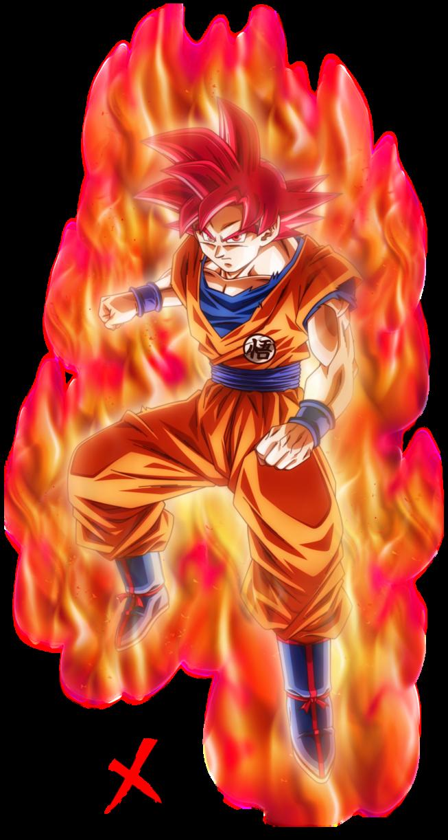 Super saiyan god son goku by nekoar dbzworld imagenes - Foto goku super saiyan god ...
