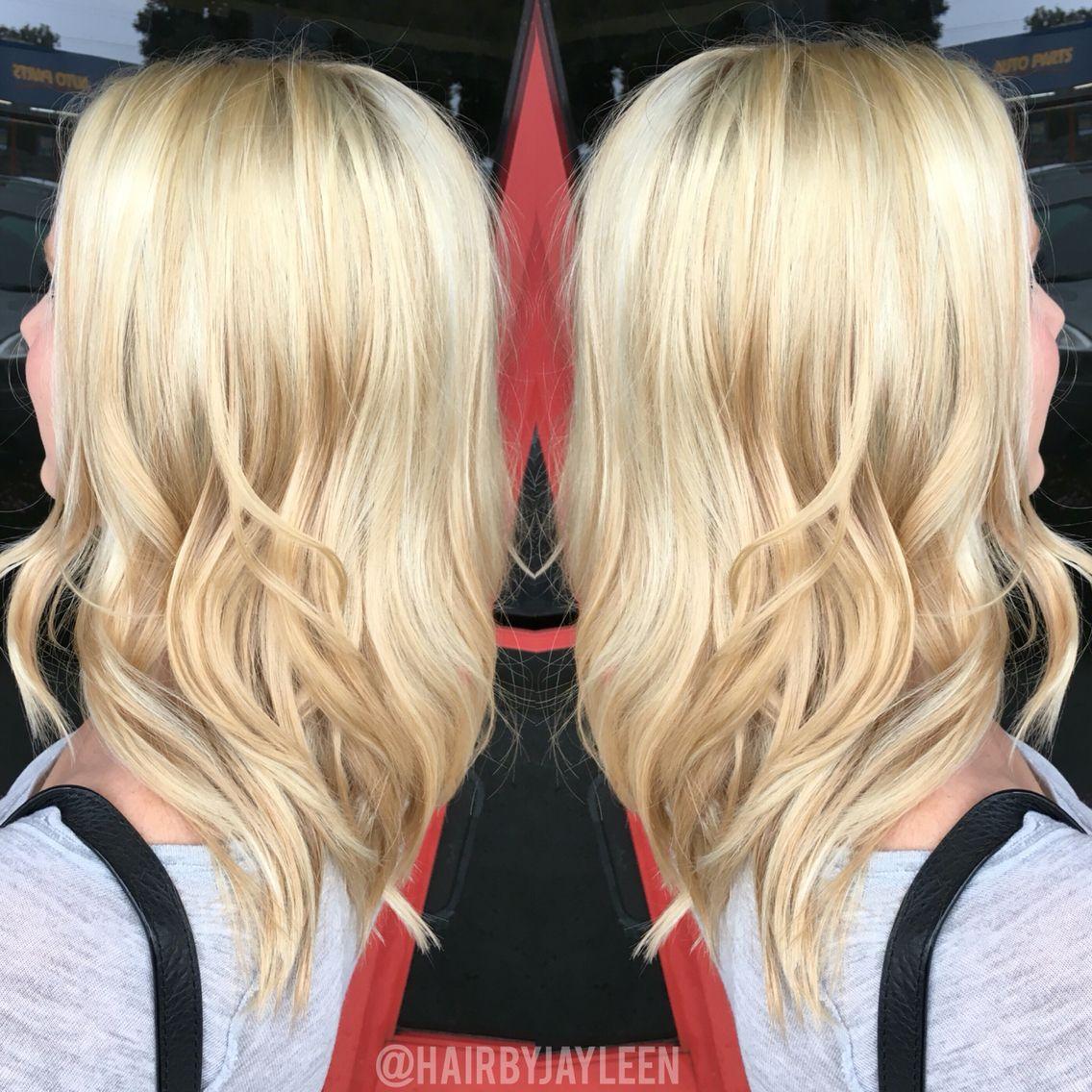 Blonde Hair Platinum Blonde Hair Balayage Hair Highlights