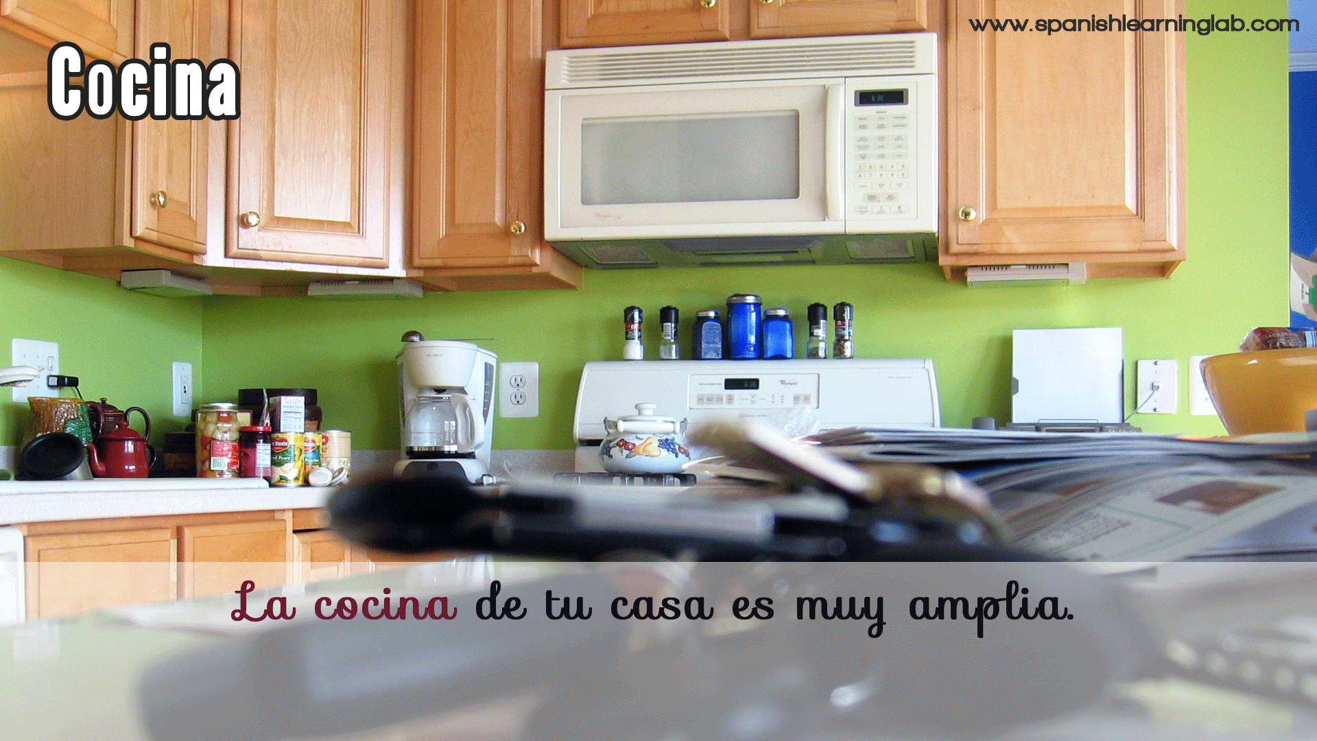 Cocina Is The Way We Say Kitchen In Spanish As You Can See