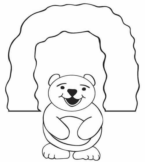 Bear Den Clip Art Toddler Programs Chapter Tslac Animals