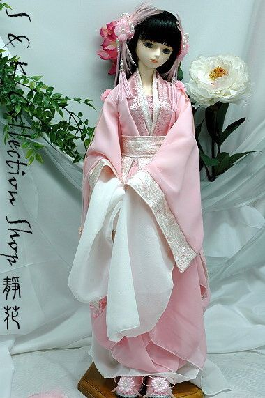 Dolls in Chinese Traditional Clothes | Doll clothes | Pinterest