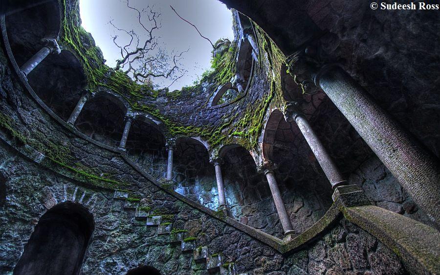 Таинственный замок с пещерами и гротами Кинта да Регалейра - ЧУДНЫЕ МГНОВЕНИЯ ВЕСЕЛОГО И…