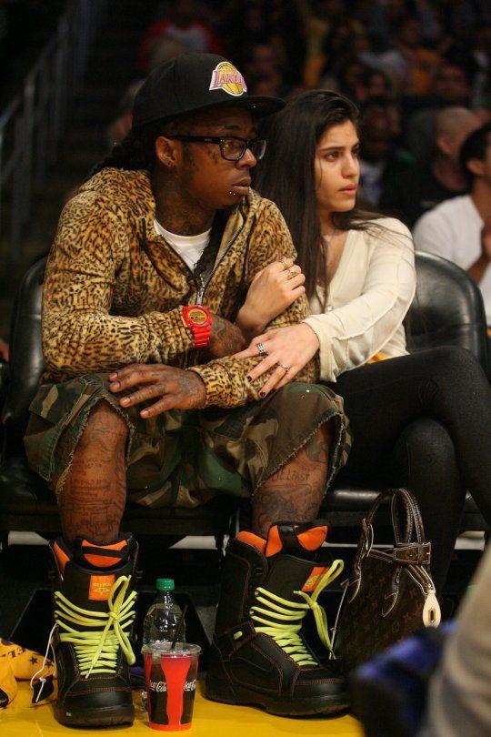 Lil Wayne Animal Print Jacket Lil Wayne Girlfriend Lil Wayne Rapper Lil Wayne