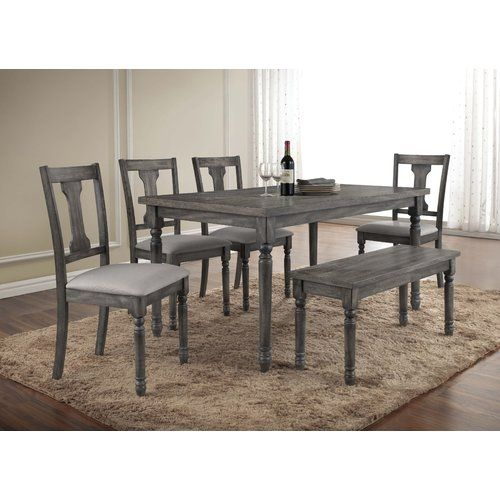 Durkee 6 Piece Dining Set | Dining sets, Dining and Formal dining rooms