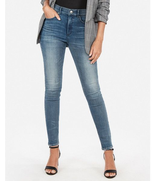 13254808ee1 High Waisted Medium Wash Perfect Curves Jeggings