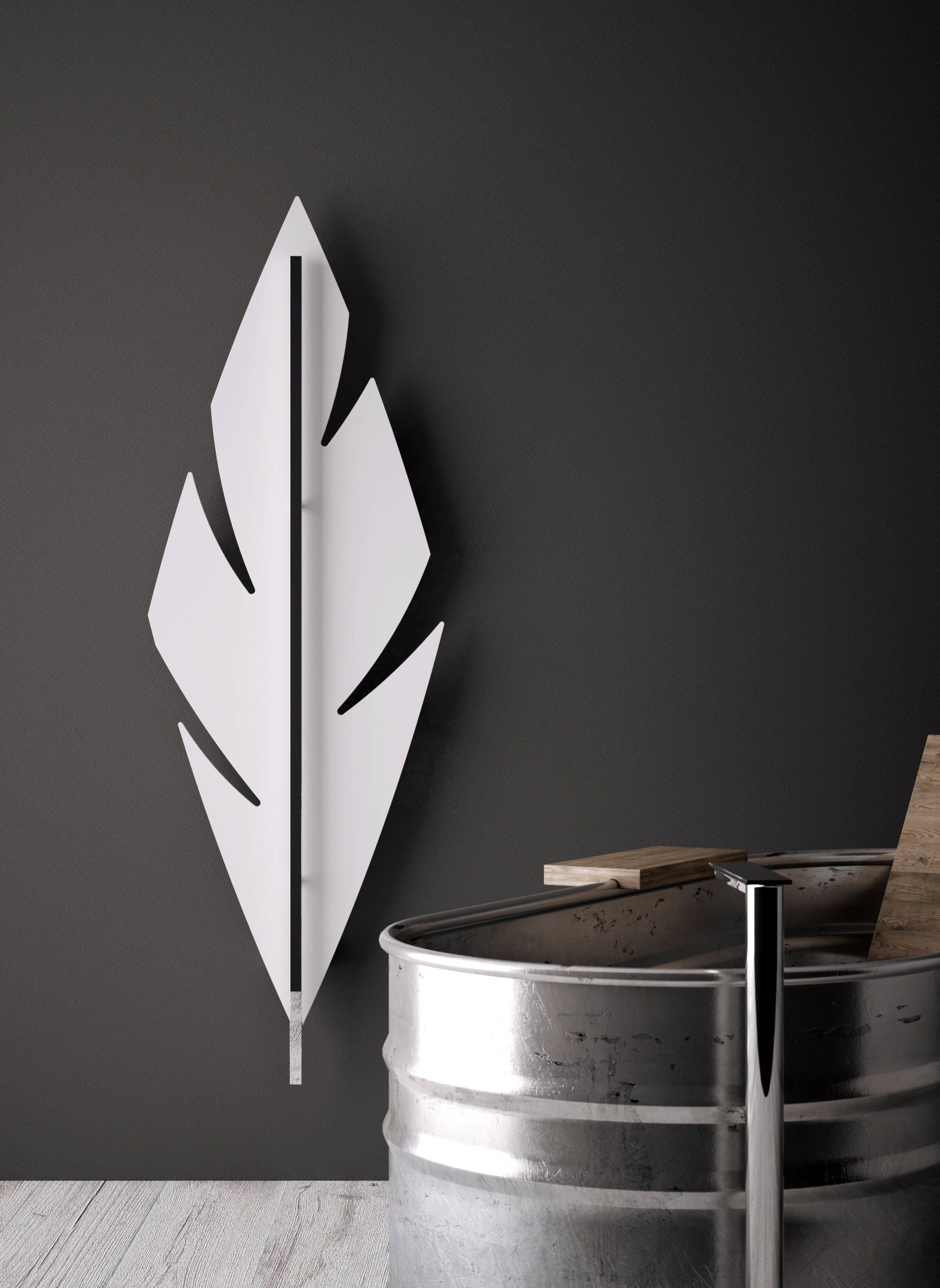 Feather uitzonderlijke verticale design radiator voor de woonkamer ...