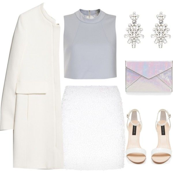 A fashion look from February 2015 featuring Lavish Alice tops, MANGO coats and Harrods mini skirts. Browse and shop related looks.